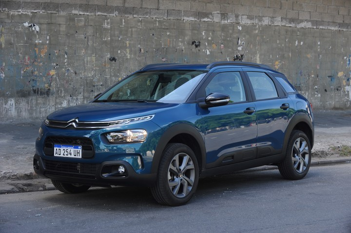 Citroën C4 Cactus.  The best-selling of the French brand.