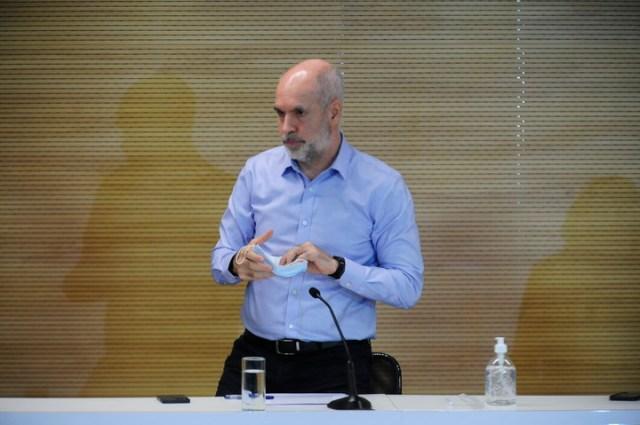 Horacio Rodríguez Larreta tiene aspiraciones presidenciales.