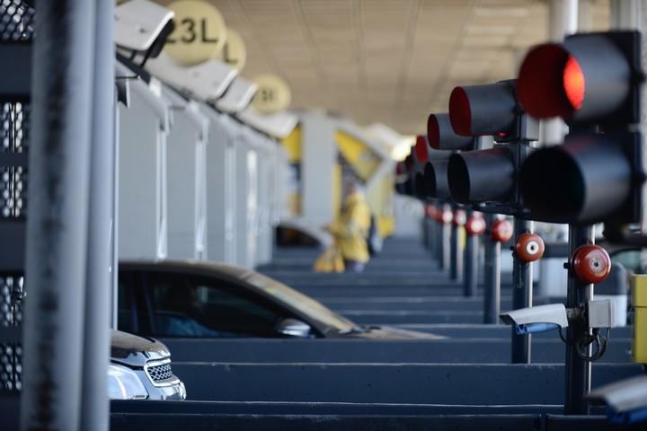 TelePASE improves traffic flow.  Photo Andrés D'Elía