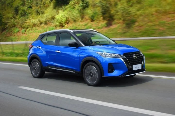 Nissan Kicks.  Renovated compact SUV offered with 0% rate plans