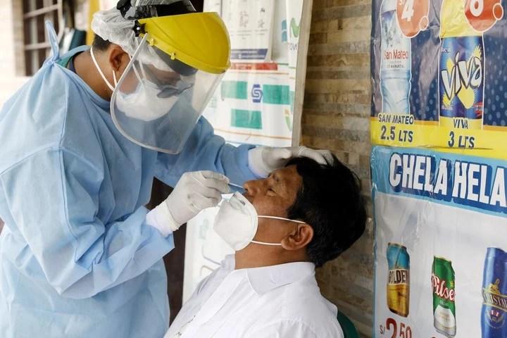 Abril ha sido el mes más mortal de la pandemia, con más de 9.400 muertes confirmadas por covid-19 (Xinhua)