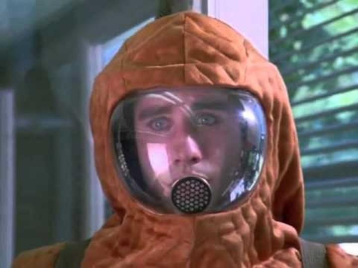 El chico de la burbuja de plástico. Película con John Travolta, estrenada en 1976.