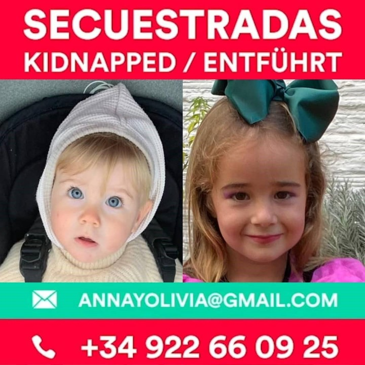 After their disappearance, the girls were intensely wanted all over the world.  Now the Spanish navy is looking for the bodies of Anna and Tomás Gimeno, their father and murderer.