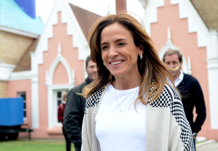 Victoria Tolosa Paz, the head of the National Council for the Coordination of Social Policies.