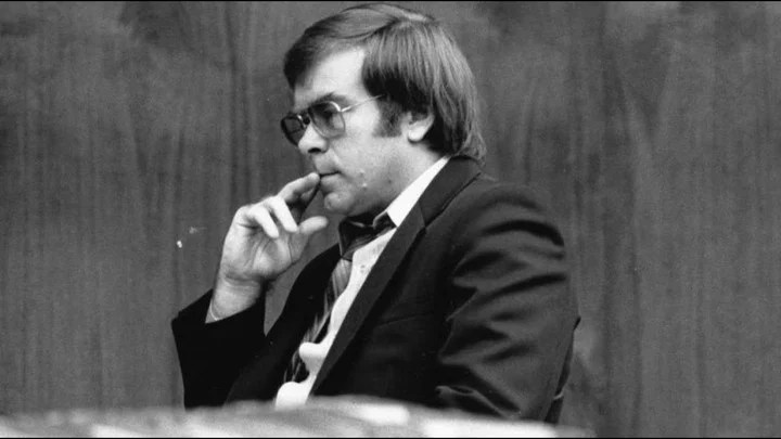 Richard Cottingham during the trial against him in 1982.