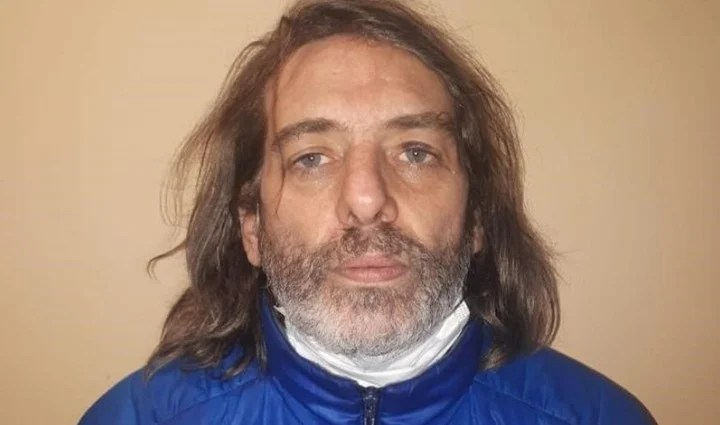Luciano Napolitano, son of Pappo, arrested for gender violence and kidnapping.