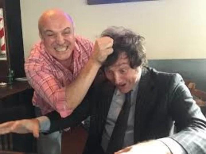 José Luis Espert with Javier Milei