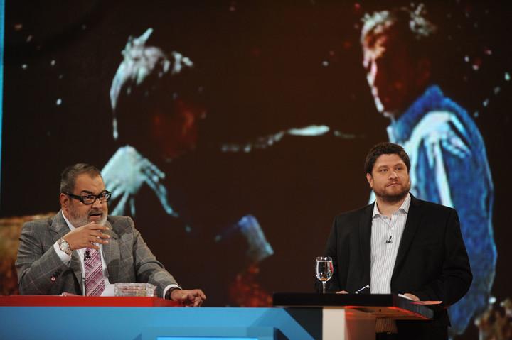 Jorge Lanta and Nicolas Wiñazki in PPT.  Photo file.