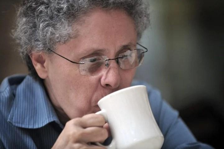 Dora Maria Téllez.  former Sandinista commander, another detainee.  AFP photo