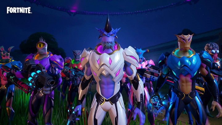 Kymera, one of the characters available in the seventh season of Fortnite.  Photo: Epic Games.