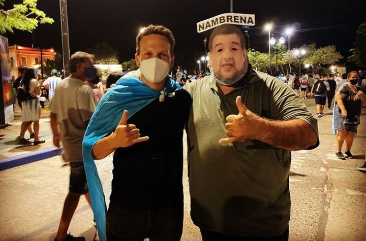 Marcelo Ocampo, the merchant arrested in Formosa.  Instagram photo