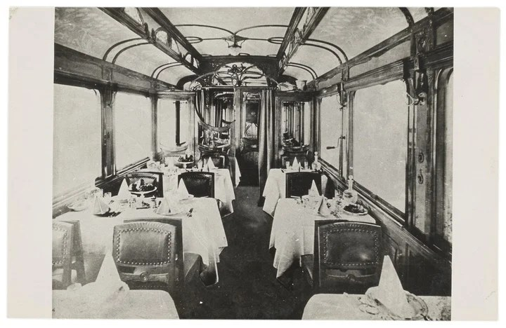 The services offered by the train were totally new for the time.Photo Orient Express Heritage.