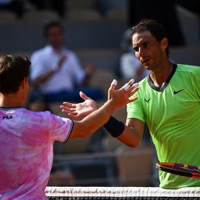"Rafael Nadal on Schwartzman: ""Diego is an incredible player"""