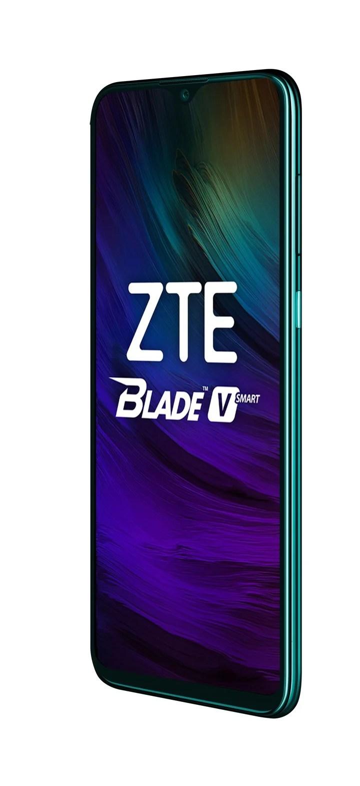 "ZTE Blade V Smart.  6.49 ""HD + Full Display screen, Mediatek Helio P60 Octa-Core 2.0GHz chip, 16MP, 8MP and 2MP triple camera.  5000 mAh battery.  Price: $ 28,999."