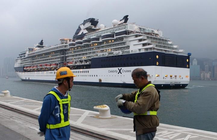 Celebrity Cruises. Es la primera partida programada, para el 26 de junio desde Ft. Lauderdale. Foto Dale DE LA REY / AFP.