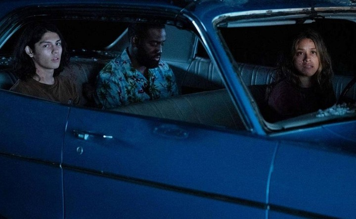 """""""The scene"""".  The attack they suffer in the car is unparalleled.  Netflix photo"""