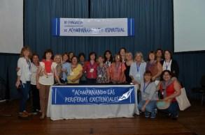 El grupo de acompañantes del Centro de Espiritualidad Santa María.