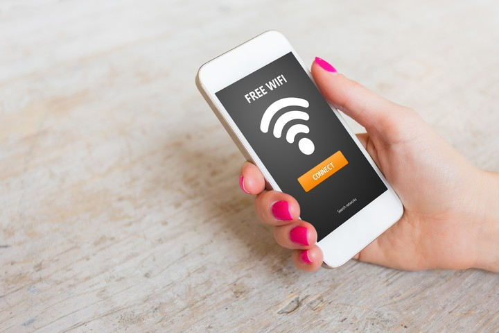 Public Wi-Fi networks are insecure.  Photo Shutterstock