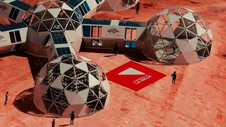 Solar 54, the Argentine project that emulates life on Mars.
