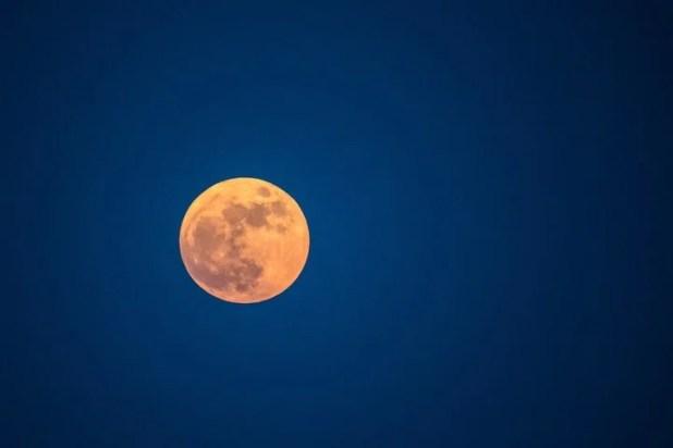 """El ciclo de """"bamboleo"""" de la Luna dura 18,6 años. Foto: AFP"""