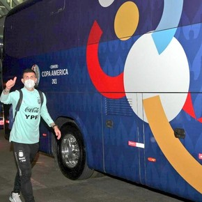 Argentina is already in Cuiabá to face Bolivia tomorrow at the close of Group A