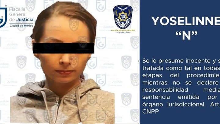 The image released by the Justice of Mexico.