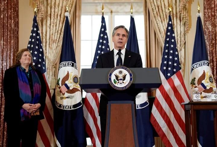 The Secretary of State of the United States, Antony Blinken.  Reuters photo