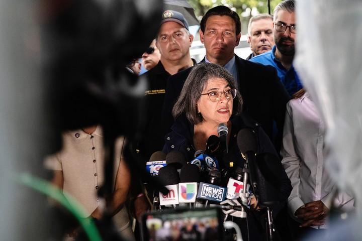 Miami-Dade County Mayor Daniella Levine Cava.  Photo Scott McIntyre / The New York Times.