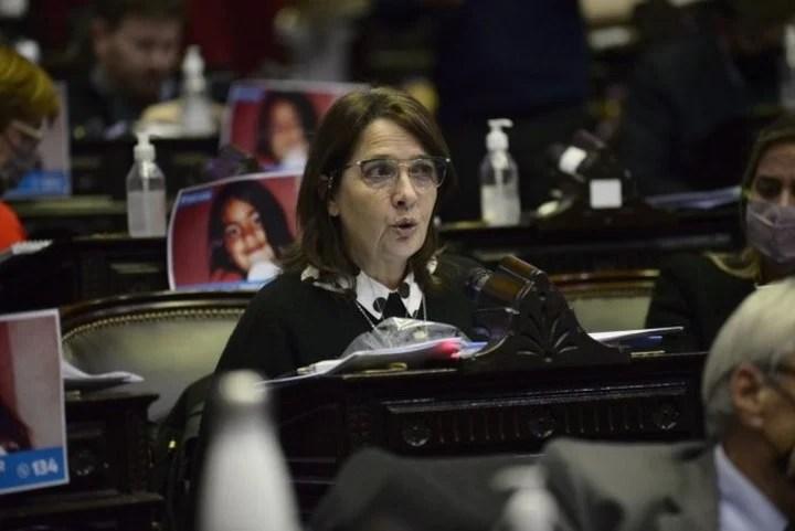 Deputy María Luján Rey.