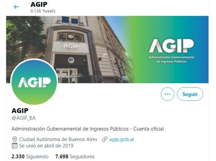 The official Twitter account of the AGIP.