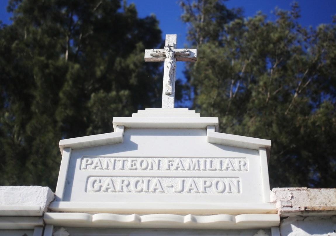 The Coria del Río cemetery.  Photo: Cézaro De Luca