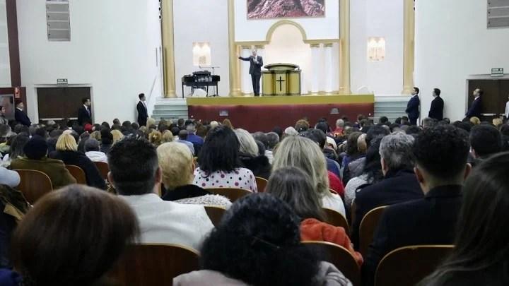 Christian Help Center, in Madrid./ EFE