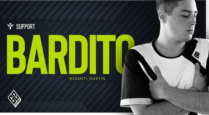 "Santiago ""Bardito"" Martin, Globant Emerald Team support."