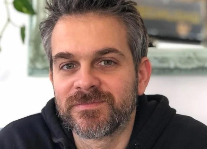 Daniel Benmergui, creator of Storyteller.  Photo Benmergui