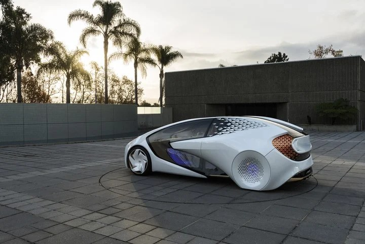 The Toyota Concept-i was designed following Disney animation principles.