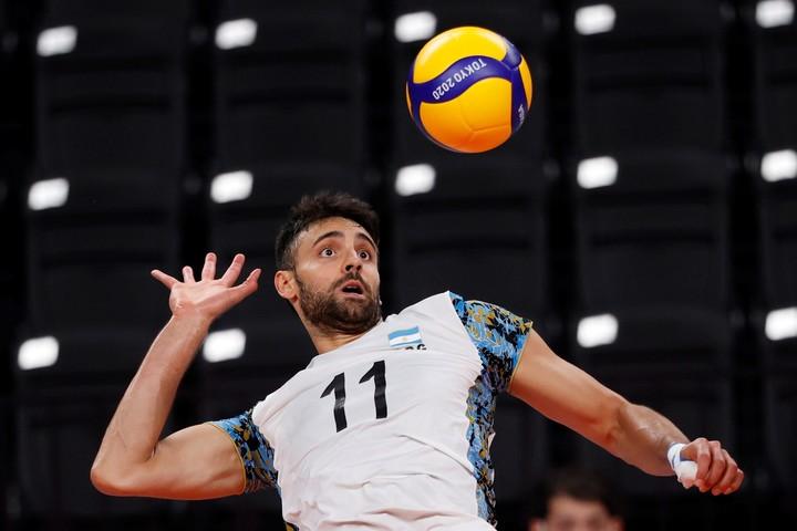 Sebastián Solé, a world-class player.  Photo: EFE / Miguel Gutiérrez