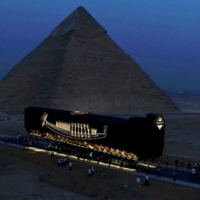 Feat: they managed to move Pharaoh Khufu's solar ship intact