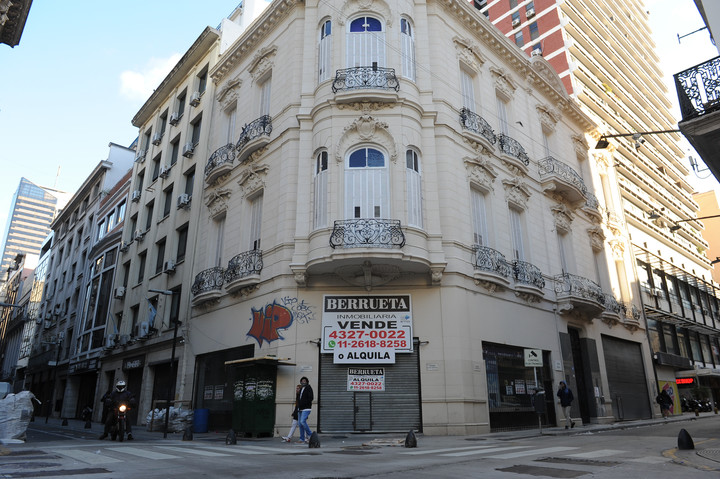 A project of the Buenos Aires ruling party seeks to generate a fund to finance transformation works in an area degraded by the pandemic.  Photo: Juano Tesone