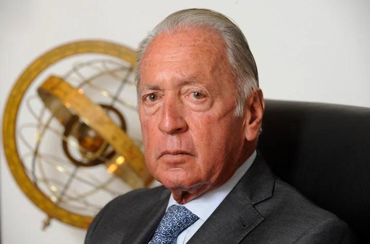 Daniel Funes de Rioja, president of the UIA.  Photo: Fernando Orden.