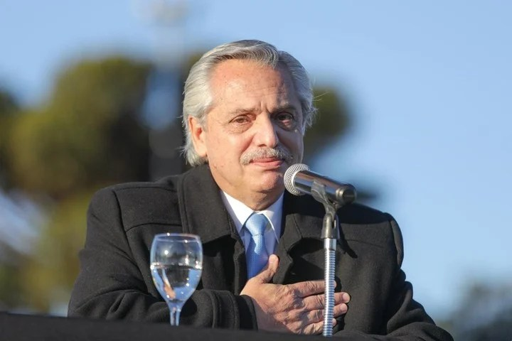 Alberto Fernández spoke of the scandal over the photo of Olivos.