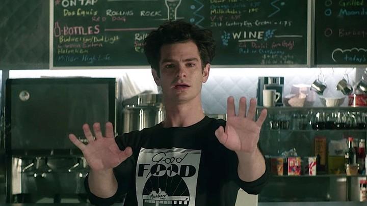 Andrew Garfield, en el filme de Lin-Manuel Miranda.