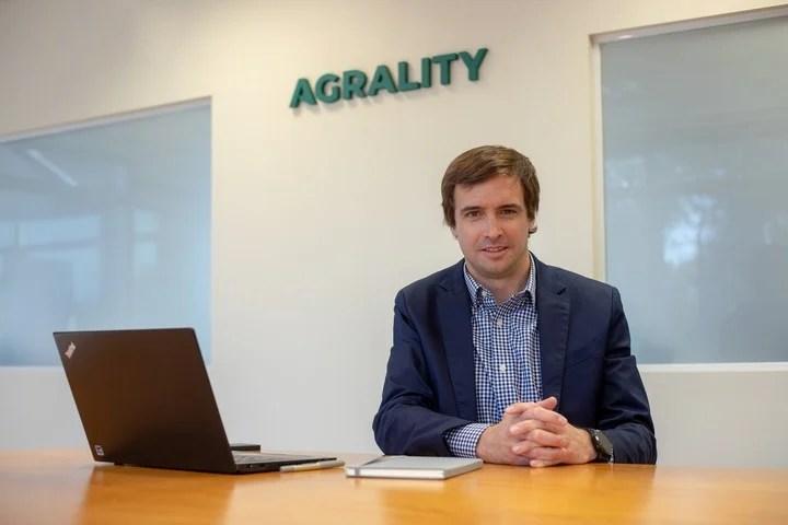 Juan Cruz Lizarralde, CEO of Agrality.
