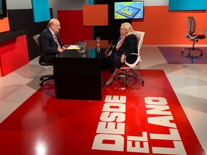 Carrió analizó la composición del nuevo Gabinete. Foto: Captura TV