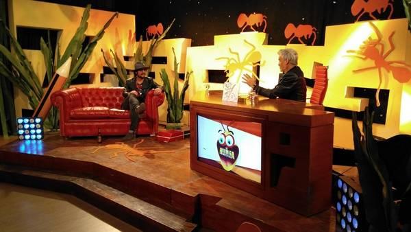 Entrevistado por Roberto Pettinato, Osvaldo le pegó a los hermanos Schelotto. /Twitter