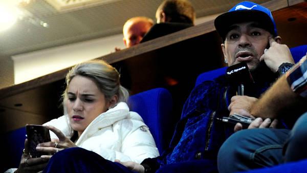 Diego Maradona en el Arena Zagreb. (Germán García Adrasti)