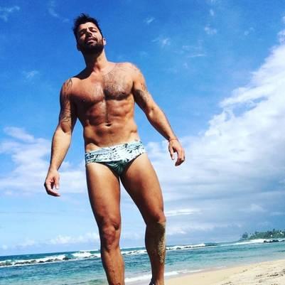 Ricky Martin hizo delirar las redes sociales con su cuerpo trabajado | Instagram