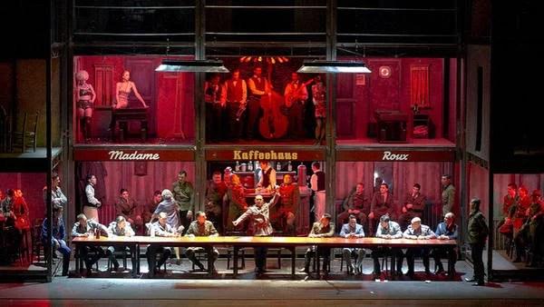 """""""Die Soldaten"""", una realización del Colón de enorme despliegue y producción. (Foto: Teatro Colón)"""