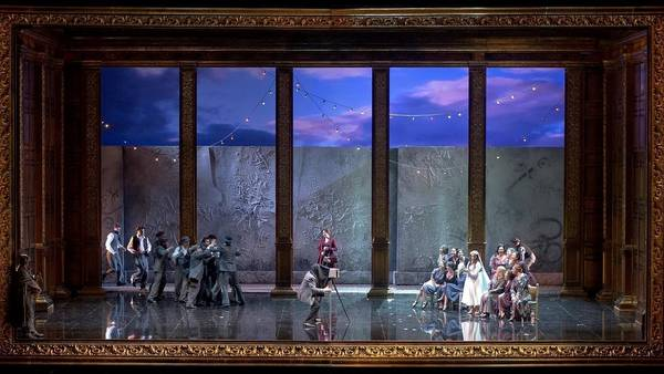 "Ensayo general de ""Don Giovanni"""