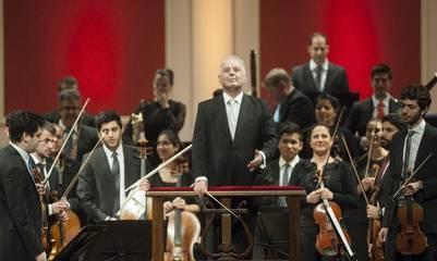 24 07 2016 - Concierto de Daniel Barenboim en el Teatro Colon  . FOTO PEDRO LAZARO FERNANDEZ - FTP CLARIN - 160724_PLF5057.JPG - Z FTP RGonzalez - gonzalez