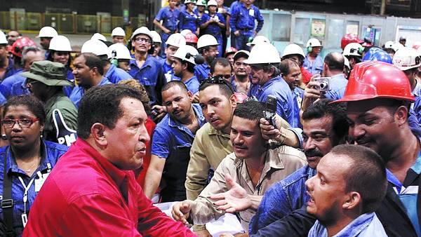 Resultado de imagen para SIDOR  CON CHAVEZ